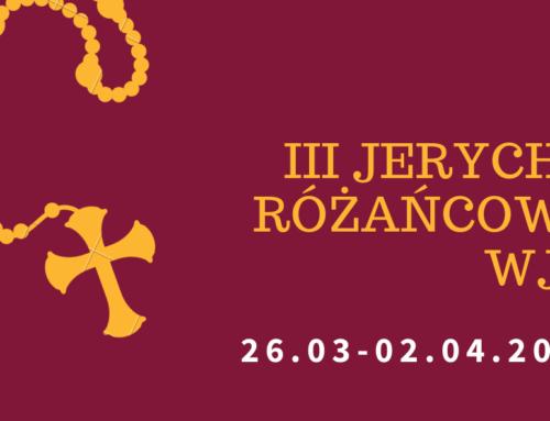 III Jerycho Różańcowe (26.03-02.04.2020)