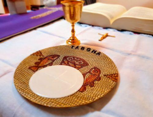 Wspólnotowa Eucharystia w W. Sobotę (11.04.2020)
